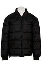 Rafter C Ranchwear Mens' Black Polyfill Quilted Jacket