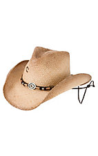 Charlie 1 Horse™ Great Divide Natural Distressed Straw Hat