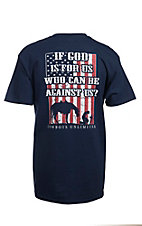Cowboys Unlimited® Men's Navy For Us Short Sleeve Tee