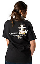Cowgirls Unlimited® Women's Black Always Pray T-Shirt