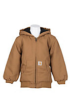 Carhartt® Kids' Carhartt Brown Active Jacket