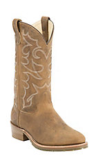 Double H Oak Ice Men's Distressed Brown Western Boots