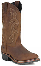 Double-H Black ICE Men's Briar Brown Western Boots