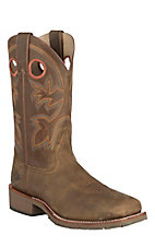 Double H Men's Canyon Rust Double Welt Square Steel Toe Western Boots