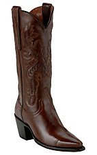 Dan Post® Ladies Antique Dark Tan Brown 13