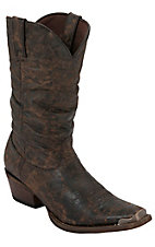 Durango® Men's Marbled Chocolate Slouch Snip Toe Western Boot