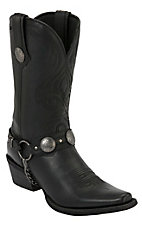 Durango® Gambler™ Men's Black Harness Snip Toe Western Boot