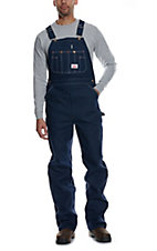 Round House® Made in the USA Denim Bib Overalls--Size 60