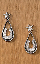 Montana Silversmiths® Vintage Charm Pony Trekker Earrings