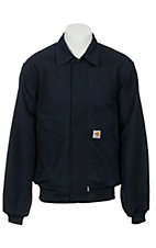 Carhartt® Men's Navy Flame-Resistant All-Season Bomber Jacket