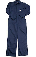 Carhartt® Fire Retardant Twill Navy Big & Tall Coverall