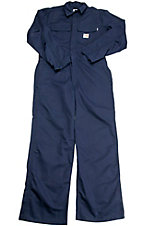 Carhartt® Fire Retardant Twill Navy Coverall