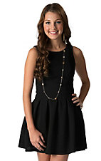 Karlie Women's Black Sleeveless Dress