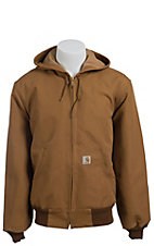 Carhartt® Brown Duck Thermal Lined Active Jacket