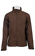 Cinch Men's Brown Logo Bonded Jacket