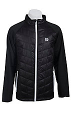 Cinch Men's Black Lightweight Quilted Full Zip Jacket J1024000