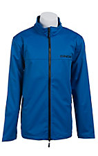 Cinch Men's Blue Softshell Zip Up Jacket J1028000