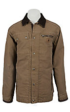 Carhartt® Men's Frontier Brown Sandstone Multi-Pocket Quilt Lined Jacket