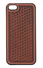 Justin� Tan Basket Weave Iphone 5/5S Case
