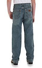 Wrangler Retro® Dirty Blue Straight Leg Boys Jean 1-7