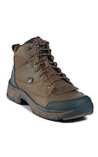 Justin� Stampede? Men's Distressed Tan Jaguar Waterproof Casual Lace Up Shoes