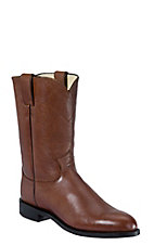 Justin® Men's Brown Corona Classic Leather Roper Boots