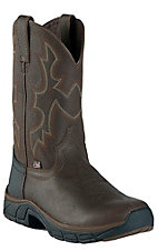 Justin® Stampede™ Rancher Men's Pebbled Copper Kettle Performance Round Toe Work Boot