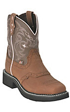 Justin® Gypsy™ Kid's Distressed Brown Bay Apache Square Toe Boot