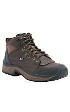 Justin® Stampede™ Ladies Pebbled Copper Kettle Brown Casual Waterproof Lace Up Shoes