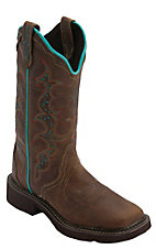 Justin® Gypsy Collection™ Women's Tan Jaguar Triad Square Toe Western Fashion Boots