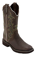 Justin Gypsy Collection Women's Copper Kettle Triad Square Toe Western Fashion Boots