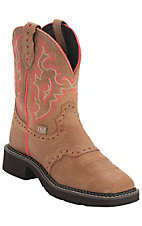 Justin Women's Toast Brown Square Toe Gypsy Collection