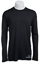 Cinch Men's Black Athletic Long Sleeve Tee K1720002