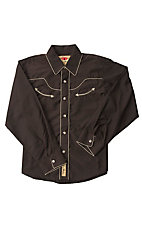 Larry Mahan Boys L/S Western Snap Shirt KK040060