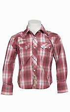 Larry Mahan Boys L/S Western Snap Shirt KK1230204