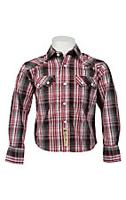 Larry Mahan Boys L/S Western Snap Shirt KK1240202