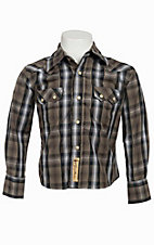 Larry Mahan Boys L/S Western Snap Shirt KK1240204