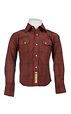 Larry Mahan Boys L/S Western Snap Shirt KK1240709