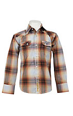 Larry Mahan Boys L/S Western Snap Shirt KLS1311010
