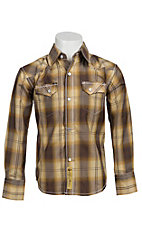 Larry Mahan Boys L/S Western Snap Shirt  KLS1311011