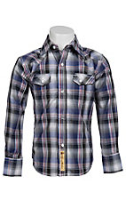 Larry Mahan Boys L/S Western Snap Shirt KLS1311012
