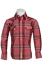Larry Mahan Boys L/S Western Snap Shirt  KLS1311013