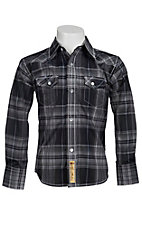 Larry Mahan Boys L/S Western Snap Shirt KLS1311014