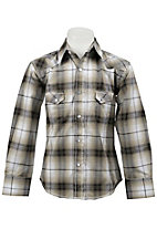 Larry Mahan Boys L/S Western Snap Shirt KLS1311015