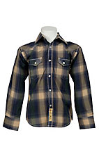 Larry Mahan Boys L/S Western Snap Shirt  KLS1311016