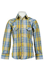 Larry Mahan Boys L/S Western Snap Shirt KLS1311018