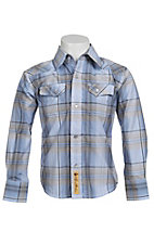 Larry Mahan Boys L/S Western Snap Shirt KLS1311019