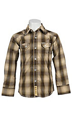 Larry Mahan Boys L/S Western Snap Shirt  KLS1311020