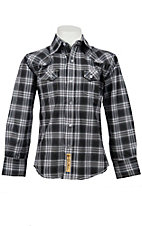 Larry Mahan Boys L/S Western Snap Shirt KLS1311021