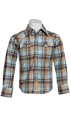 Larry Mahan Boys L/S Western Snap Shirt KLS1311022